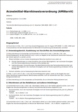 arzneimittel-warnhinweisverordnung